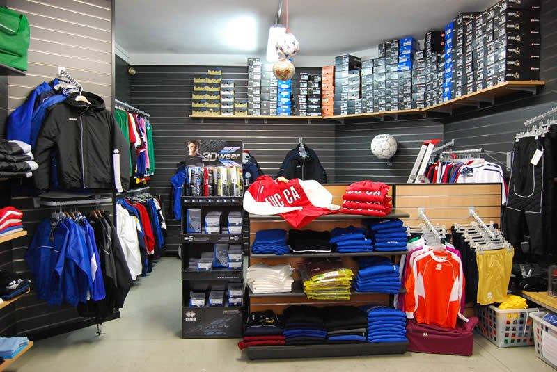 negozio di abbigliamento sportivo