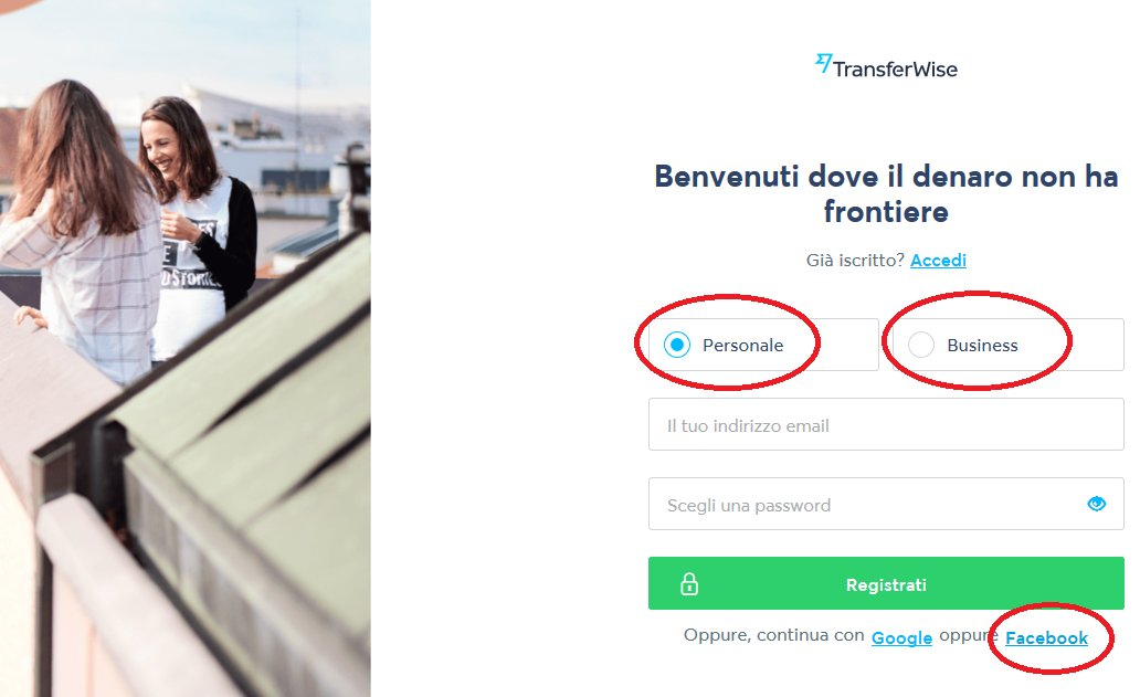 transferwise-registrati-con-facebook-account-personale-business